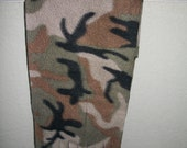 Camouflage Polar Fleece Scarf