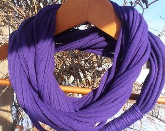 Infinity Scarf - Deep Purple Color