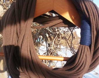 Infinity Scarf - Chocolate