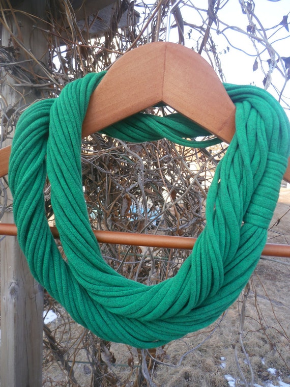 Infinity Scarf - Irish Green Color