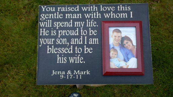 Mother Of The Groom Gift: Items Similar To Mother Of The Groom Gift, Custom