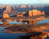 Evening Reflections on Lake Powell