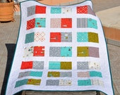 Baby Quilt or Playing Mat : Dreaming of Q - ready to ship