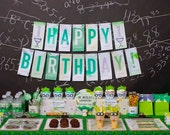 Science Birthday Value Package from the Science DIY Printable Collection by Spaceships and Laser Beams