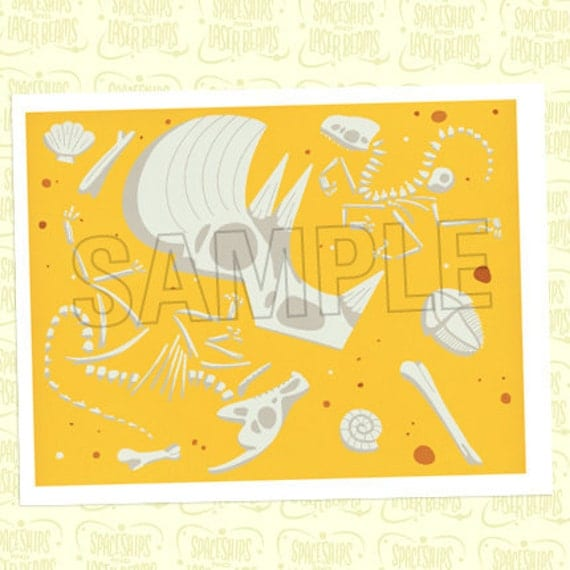 Placemat from the Prehistoric Dinosaur Party DIY Printable Collection by Spaceships and Laser Beams