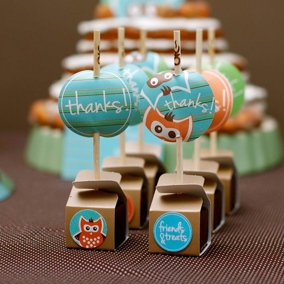 Items Similar To Birthday Party Favor Tags From The