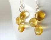 Earrings - Golden Citrine Drops Free Shipping