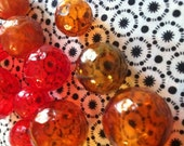 Vintage Plastic Bubble Beads