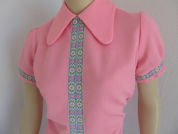 Adorable Pink Playsuit from Glamortop Original by Ostel Inc. Miami on RESERVE for yellowvintage1