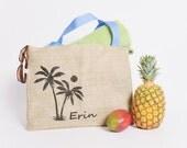15 Custom Wedding Tote Bags - Eco-Friendly and Handmade from Recycled Coffee Sacks