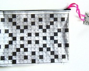 Crossword  Laminated Zip Pod