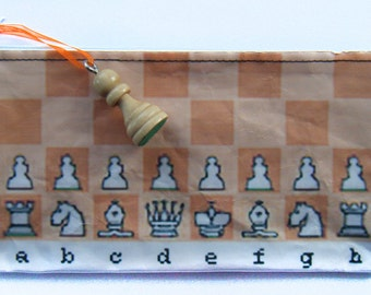 Chess Laminated Zip Pod