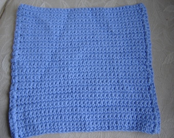 Periwinkle Crocheted Dish Cloths