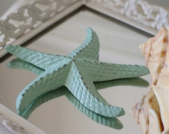 Beach Decor Cast Iron Starfish  - PICK YOUR COLOR