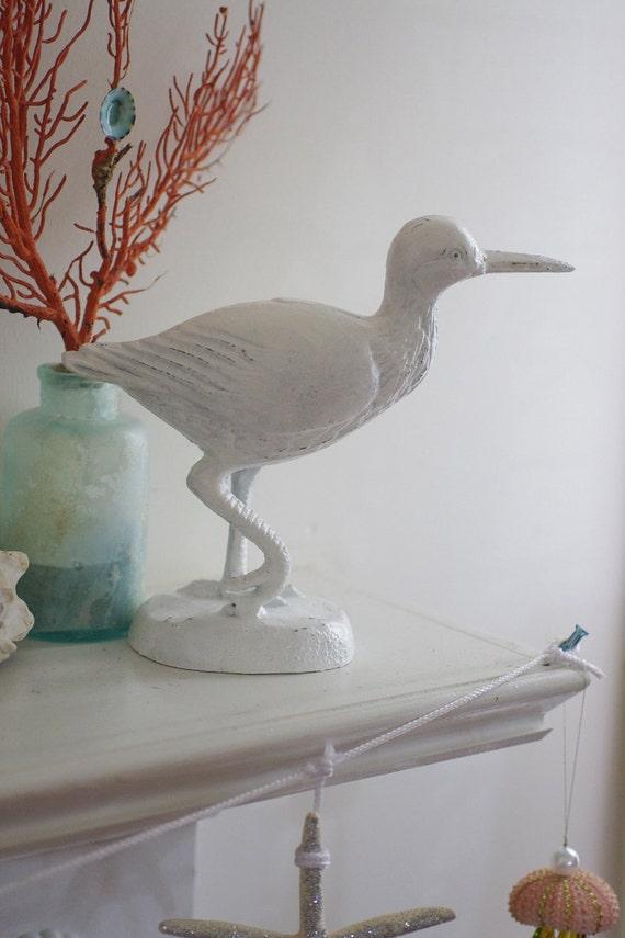 Home decor sandpiper shore bird by bytheseashoredecor on etsy for Bird home decor