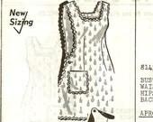 1950s Full Apron Pattern Mail Order