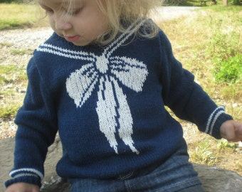 PDF First Mate Sweater Baby Toddler Knitting Pattern Instant Download