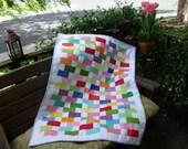 Baby bricks quilt
