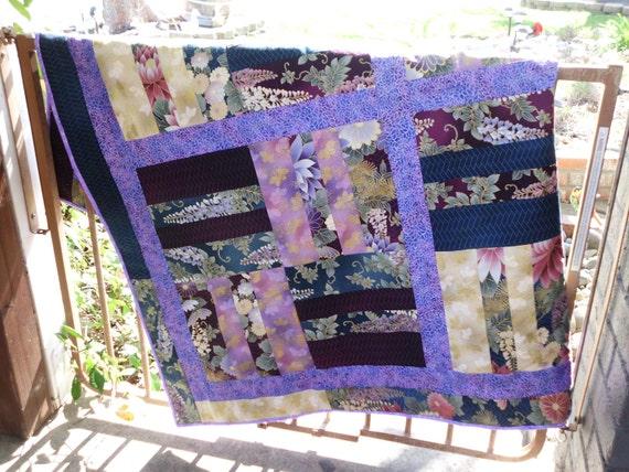 Keiko's garden block quilt