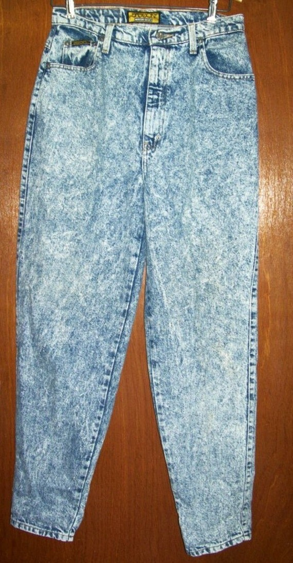 Acid wash jeans men