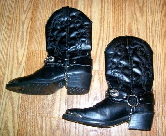 SALE 80s/90s Kids Dingo Cowboy Boots SIZE 10 1/2