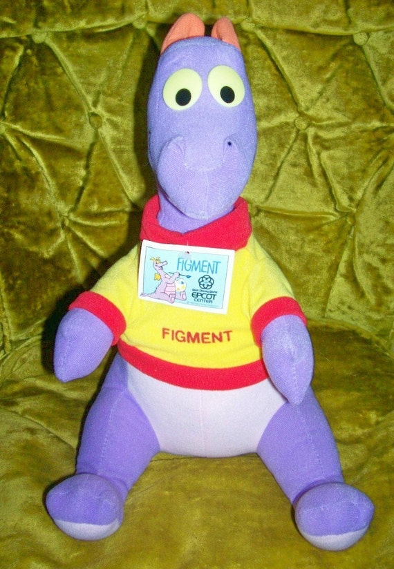 80s Epcot Disney Figment of Your Imagination Dragon 1982