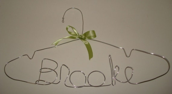 Custom Wire Name Hanger - Personalized - Bridal