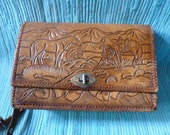 Vintage Beautiful Leather Purse
