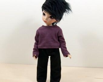 LTF/ YOSD Black light weight Jean pants