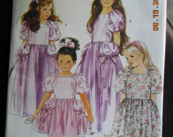 Mccalls 4031 Girls  dress or gown