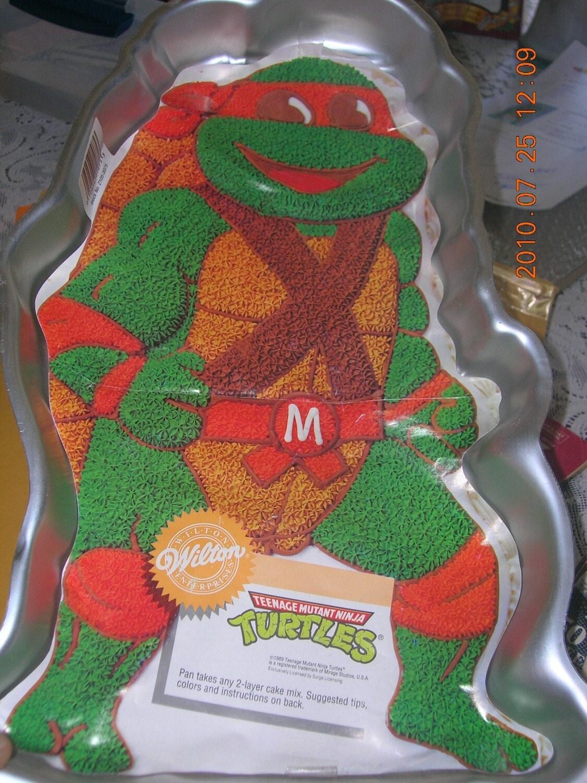 ninja turtle cake pans