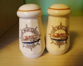 vintage cape may-lewes ferry ceramic salt and pepper shakers