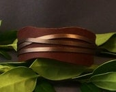 Leather Cuff-Brown Bracelet-Women's Leather Bracelet-Cuff Bracelet-Wrist Cuff-Bangle Bracelet-Friendships Gifts-Leather Bracelet-gifts