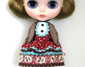 Blythe outfit Anne of Green Gable by POMMECOPINE
