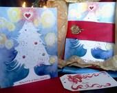 Christmas Tree Card: Gift Box Set.