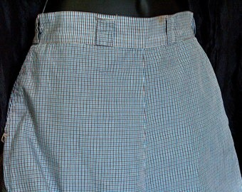 Vintage 1940 Checkered Shorts by Jay Ray