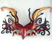 CUSTOM Dragon Leather Mask