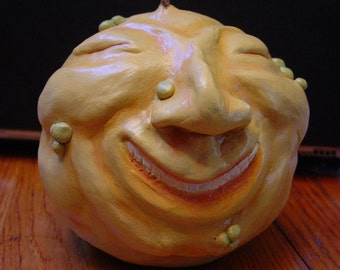 Gourdy - Whimsical Paper Clay Sculpture