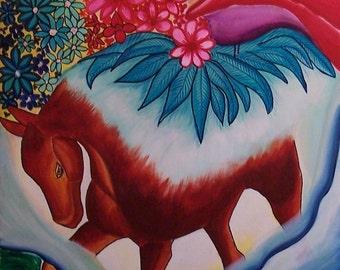original contemporary fantasy painting