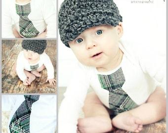 Baby Boy Half 1/2 Birthday  Personalized Tie Bodysuit. 1st Birthday Outfit Cake Smash, Month Birthday Photo Shoot Prop, Baby's 1st Christmas