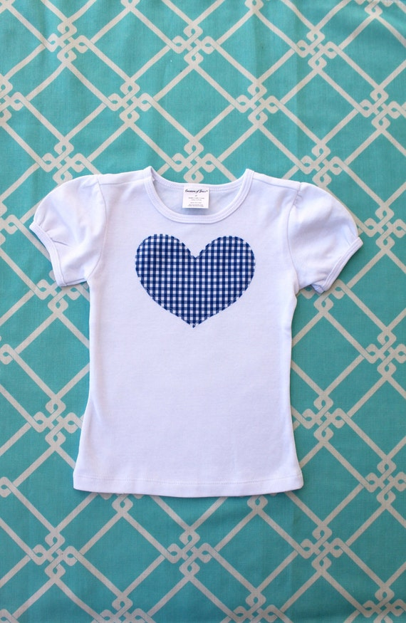 Custom Listing for Mandycohee.  Add Heart tee to Current Order.