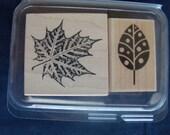 BN Maple Leaf Wooden Stamps
