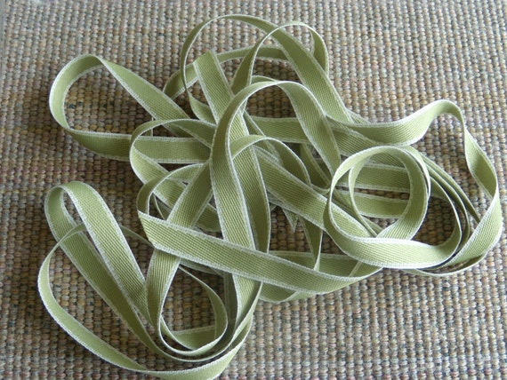 Stampin Up Pear Pizzazz Ribbon Retired