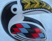 Great rare Wedgwood Noah's Ark Toucan Highly Decorated