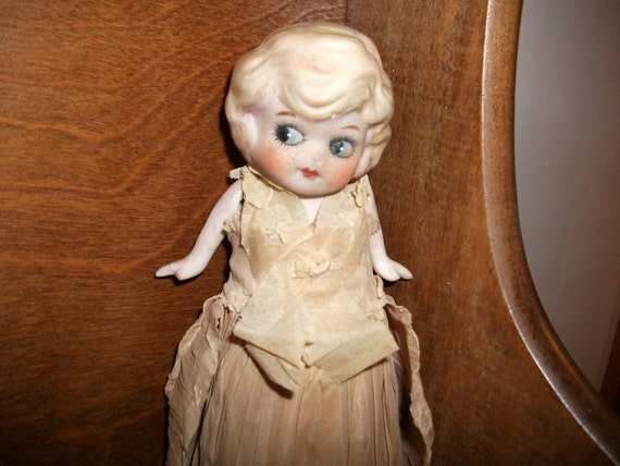 Betty Boop Bisque Doll - 1930's - reduced