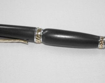 Wood Pen Macassar Ebony  with Premium Ultra Cigar Pen Twist Style Mechanism