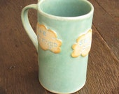 She Believed She Could...So She Did Handbuilt Clouds Mug