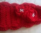 Red Winter Headband