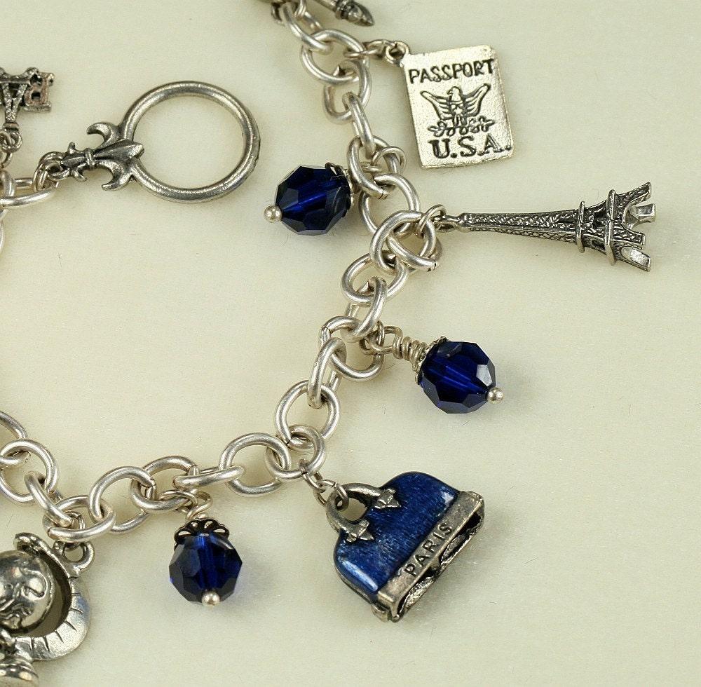 Paris Charm Bracelet 🔎zoom