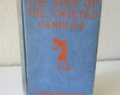 Vintage Children's Nancy Drew Book-The Sign of the Twisted Candles